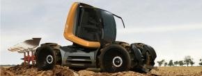 UGX – Multifunktionsfahrzeug für die Land- undForstwirtschaft