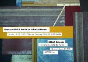 Diplom- und BA Präsentation IndustrialDesign