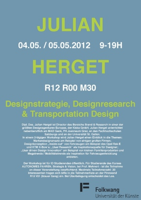 Workshop Julian Herget