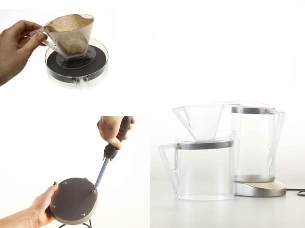 modulares kaffeebruehen