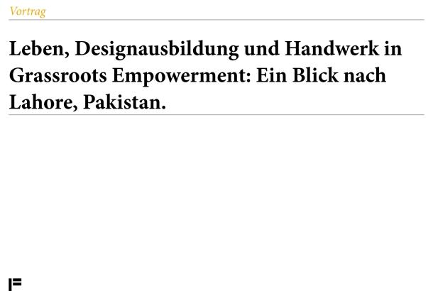 Vortrag 15-04-13 von GWENDOLYN KULICK-Pakistan