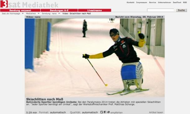Snowstorm – Biathlonschlitten