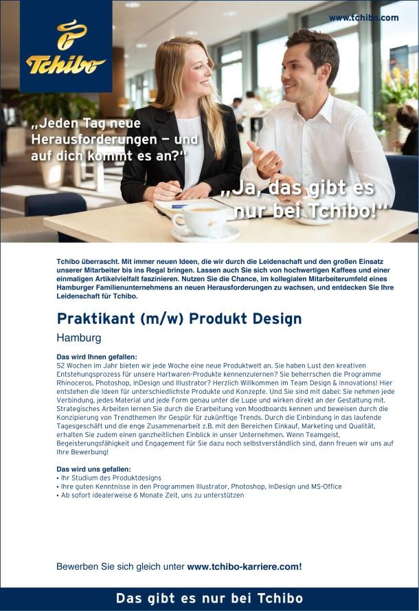 Praktikant Produkt Designx