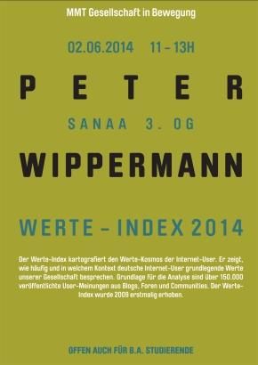 Vortrag von Prof. PeterWippermann