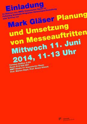 Mark Gläser: Planung und Umsetzung vonMesseauftritten