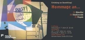 Ausstellung: Hommage an…