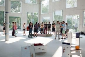 Eindrücke von der Ausstellung: Hommagean…