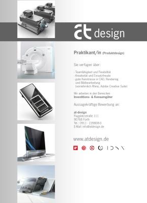Praktikum bei at-design