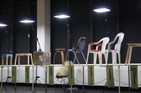 Folkwang ID Stühle auf der IMM2015