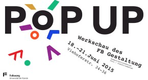 POP UP – Ausstellung der FolkwangUniversität