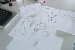Impressionen vom Workshop: Drawing for ProductDesigners