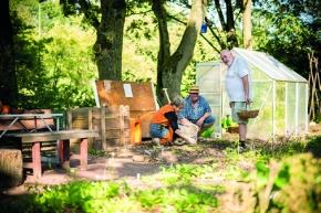 FB 4 gestaltet mobile Gartenausstellung imGrugapark