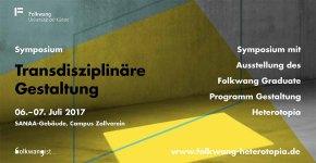Symposium Transdisziplinäre Gestaltung